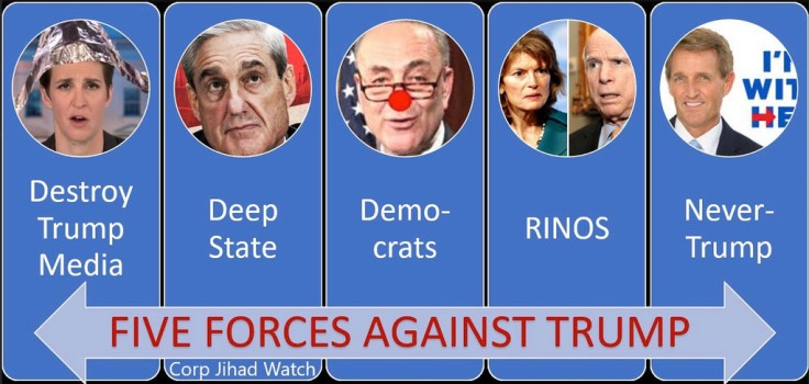 forces against trump