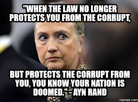 law protects the corrupt