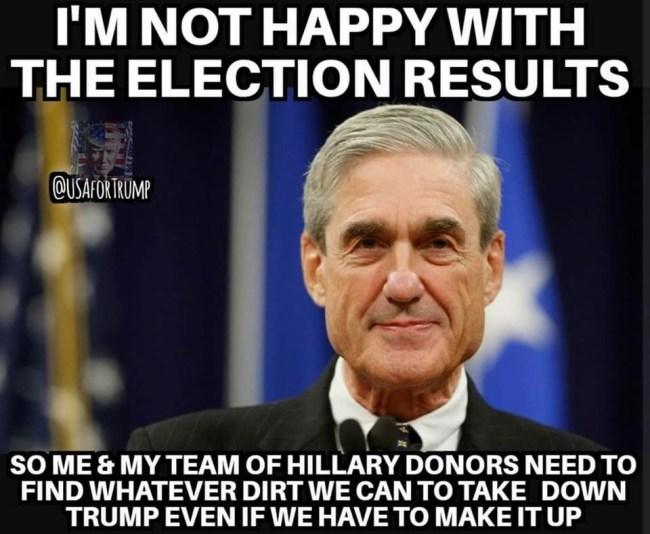 mueller unhappy with trump
