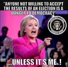 hillary threat to democracy