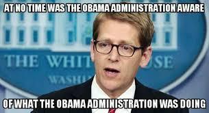 obama admin unaware
