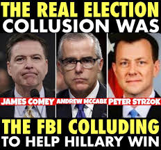real election collusion