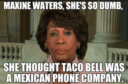 maxine-waters-shes-so-dumb-she-thought-taco-bell-was-31487769