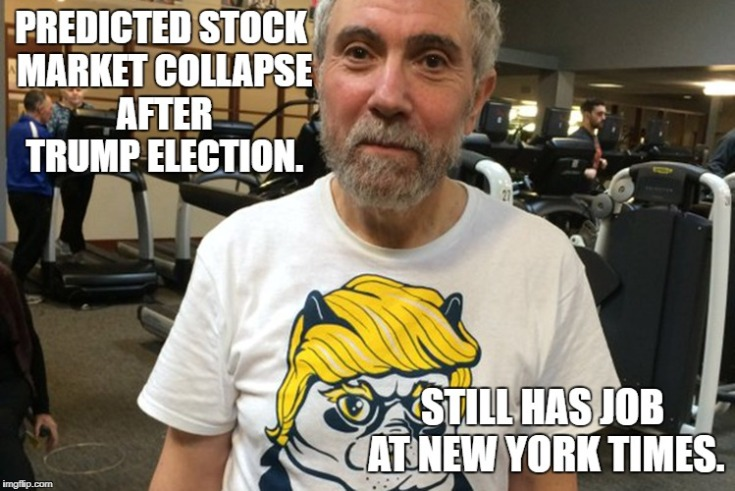 krugman stock market
