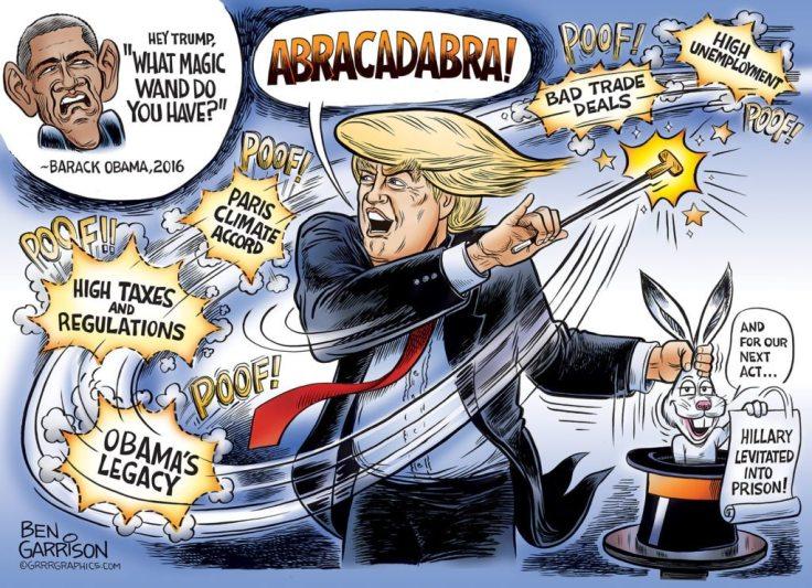 trump magic wand