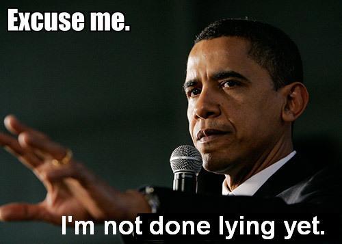 obama lying