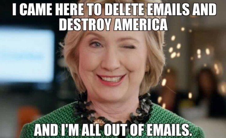 hillary destroy america