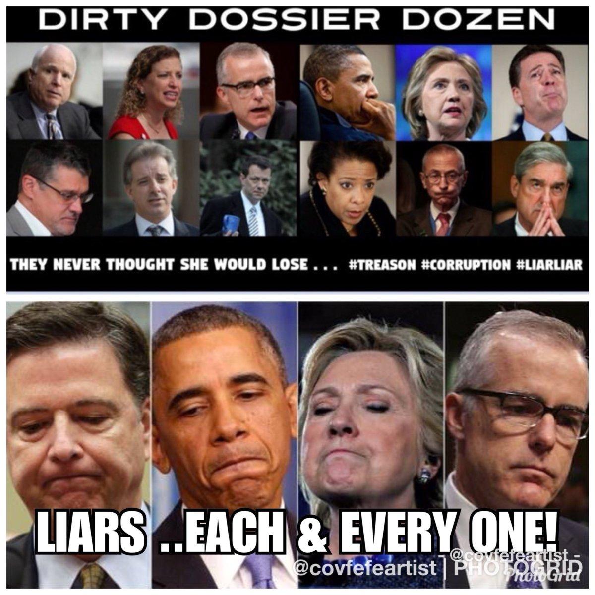 dirty dossier dozen