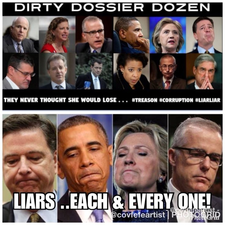 dirty dossier dozen