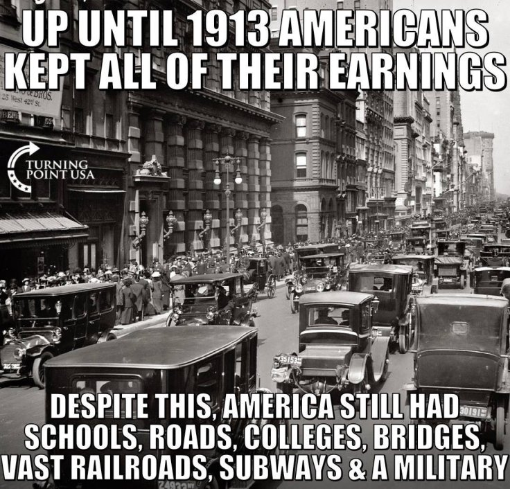 income tax before 1913