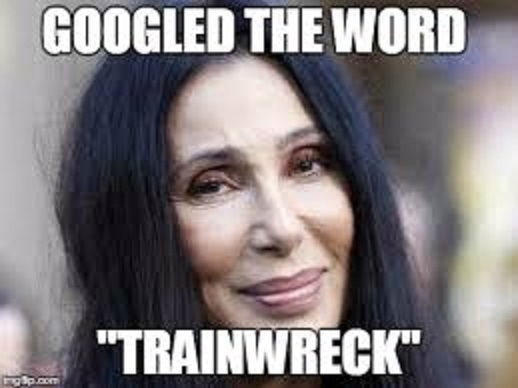 cher trainwreck