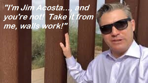 jim acosta at the border