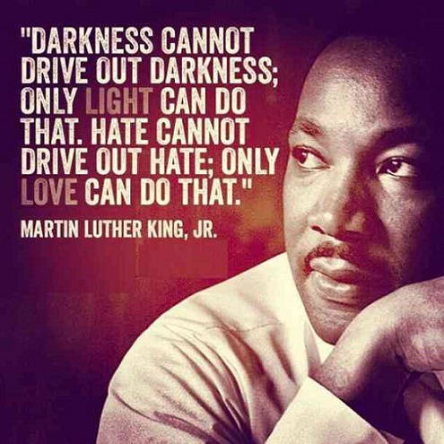 MLK light and darkness