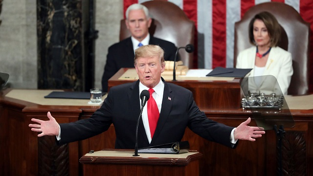 trump at state of the union 2019