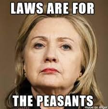 laws are for the peasants