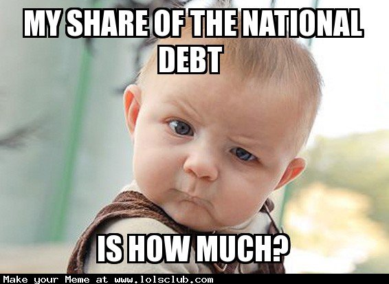 national debt 1