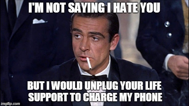 funny meme charge phone