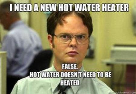 funny meme hot watre heater