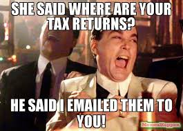 emails tax returns